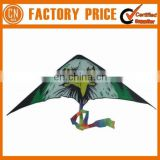 Adversting Custom Logo Printed Drawing Paper Kites White