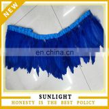 Carnival Decorative Royal Blue Goose feather fringe wholesale