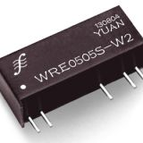 0.2-2W Fixed Input, Regulated Dual Output DC/DC Converter (WRE Series)