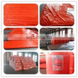 PE tarpaulin cover concrete curing blanket road use insulated tarps