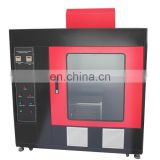 (Touch Screen Automotive Interior Material Combustion Tester) Automotive Combustion Resistance Tester Flame Test
