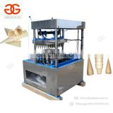 Stainless Steel Pizza Snow Cone Baking Equipment Wafer Machine For Making Ice Cream Cone Maker For Sale