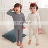 2020 autumn Korean style boys girls kids pure cotton children's home wearing two pieces set clothing