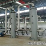 Fully continuous waste tire pyrolysis plant in Mexico