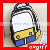 OXGIFT best selling Wholesale Comic baby bag japanese kids school bag