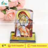 Decorative Orthodox Crystal Icon - Madonna and Child