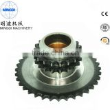 zinc plating roller chain sprockets with high quality
