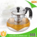 tea maker with SS 304 tea infuser, Antislip rubber handle and basic ,metal tea pot