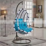 General use decorator swing metal PE garden swings for adults outdoor furniture                                                                                         Most Popular