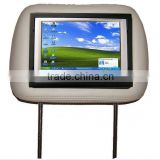 7'' lcd car headrest monitor with LED Backlight