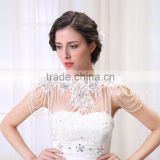 2015 New Cheap Fashion Flower Body Jewelry With Glass Bead For Wedding
