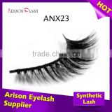Hot sale premium faux mink lashes, private lable korean eyelash extensions, window box packaging