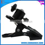 factory selling ,tripod screw for photo studio camera flash holder clamp , metal super strong clamp with ball joint