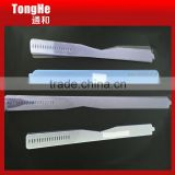 Plastic PVC Transparent Neck Collar Band For Men's Shirt
