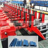 metal purline shelves rack pillar beam upright roll forming line for supermarket &wearhouse
