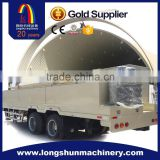 LS914-610 240 Hydraulic Arch Steel Curving Roof Prefabricated Building Roll Forming Machine                                                                         Quality Choice