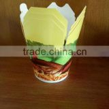 single use recycled takeaway lunch wholesale food grade paper container