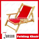 Hot Sale Children Camping Chair/Kids Folding Beach Chair With Armrest/Wood Children Chair