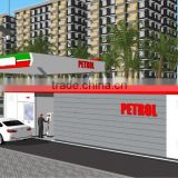 mobile petrol station