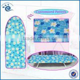Home Office Hotel Use Essentials 80*30cm (H)12CM Wispy Floral TC Cloth Chambray Desktop Ironing Lap Board