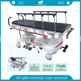 Easy to use AG-HS007 CE ISO patient medical ambulance hospital transporter stretcher