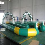 Sport Type PVC Material Inflatable Air Track Sports Inflatable Games For Rolling Zorb Rall