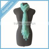 newest long style polyester shawl
