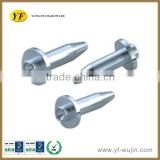 Customize High Precision Steel CNC Turning Shaft Series CNC Lathe Parts With Galvanizing