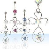 Belly rings, belly piercing jewellery, belly button ring, dangling body jewellery, navel ring, body jewellery