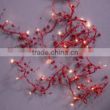 red pearl christmas lights