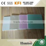 Pink and green fire and water proof paper faced gypsum board /plasterboard/gypsum board/drywall made in China