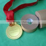 Tan/White Colored Rayon Cloth Rayon Tape / Sports Strapping Tape With Strong Porous Zinc Oxide CE/FDA/ISO approved (SY)