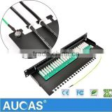 Manufacture Circuit Board 50 Port Voice Patch Panel For Telephone Cable Use At Factory Price