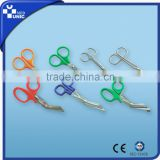 Bandage scissors,Medical bandage scissors,Different types of scissors