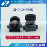 China good sale camera hd low distortion 3 mp 1/2.7 inch m12 f1.85 infrared camera lens 2.8mm with lens base