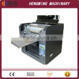 A3 Digital Clothes Flatbed UV Printer China