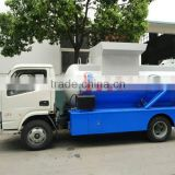 Dongfeng 5 cbm waste food compactor truck kitchen waste disposal truck kitchen waste truck