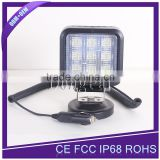Car accessories 27w 12v led work light for 4x4, pickup, atvs, suv, offroad, trucks, boat, bus