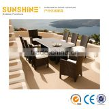 China factory wholesal outdoor rattan garden furniture/ wicker patio garden furniture