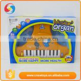 Children educational electric plastic miniature musical instruments toy music organ