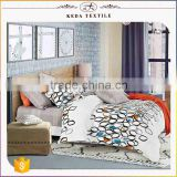 Made in China home use bed sheet set wholesale 205TC 133x72 100% cotton white bedding set