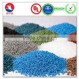 High Oxygen Index Fire resistant ABS modified engineering plastic raw material / FR ABS resin, ABS pellets, ABS granules