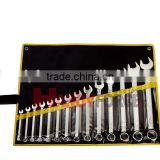 14 Pcs Combination Wrench Set, Wrench and Spanner Tool of Auto Repair Tools