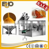Top quality high efficiency rotary preform doypack counting full automatic Washing Powder Carousel type Packing Machines