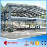 Two Story Steel Structure Warehouse, Steel Structure Building Multi-storey, Type of Cantilever Steel Structure