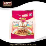 Hottest china flavor peanut butter noodles served with oil