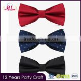 2016 Fashion Elegant Bow Tie Wedding Party Groom Dresses Tuxedo Accessories Adjustable Neck Ties Suits Gifts For Men