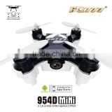 FQ777-954 WIFI FPV mini drone with con camera quadcopter digital video transmitter fpv camera goggles radio control drone FPv
