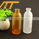 Promotional low price frosted juice bottles botellas de vidrio cocktail bottles 500ml