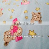 Custom flannel fabric printing for Baby Wear